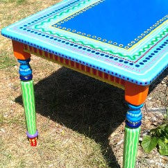 Painted Tables And Chairs Weekend Warrior Sold Sample Of Custom Work Kitchen Table Hand