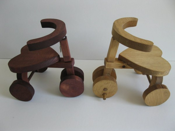 Miniature Wooden Tricycle