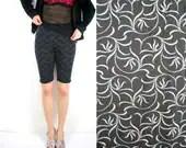Black biker shorts - black dark grey - size small - last piece - streetwear - Bartinki