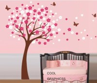 Cherry Tree Wall Decal Nursery wall decals trees by ...