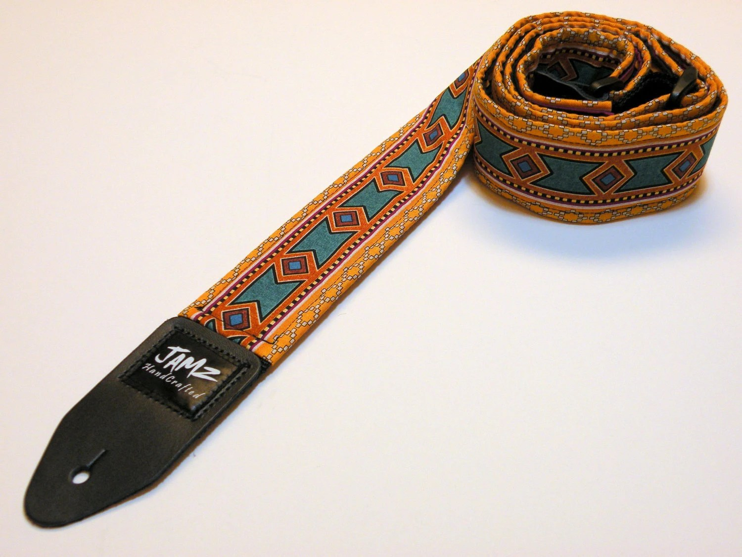 Custom Leather Guitar Straps Acoustic