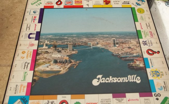 Very Rare Vintage Monopoly Like Jacksonville By