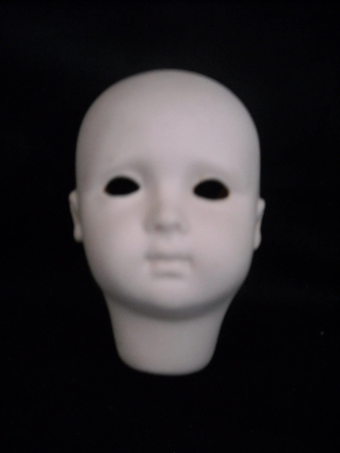 Items similar to Porcelain Doll Head Small on Etsy