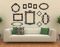 Wall decal frame   Etsy