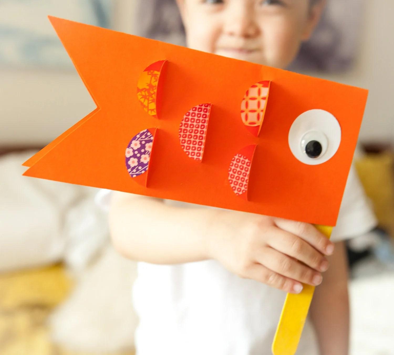 Kids Craft Kit Japanese Children S Day Carp Koi By Loopstolines