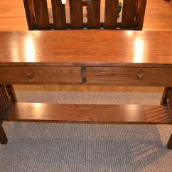 Mission Style Oak Sofa Table Pier One Nyle Reviews Items Similar To Arts And Crafts Console