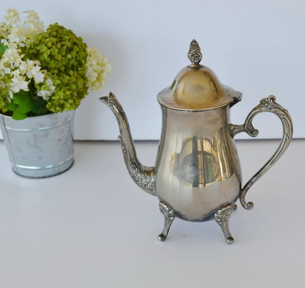 Vintage Teapot Silver Plated