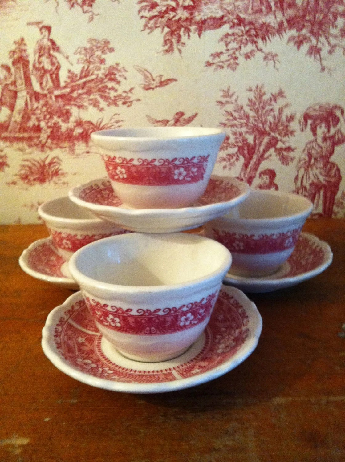 Restaurant Dishes Syracuse China Strawberry Hill Patternset