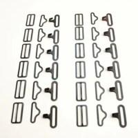 Bow Tie Bowties Hardware Hook Eye Slide Set by ...