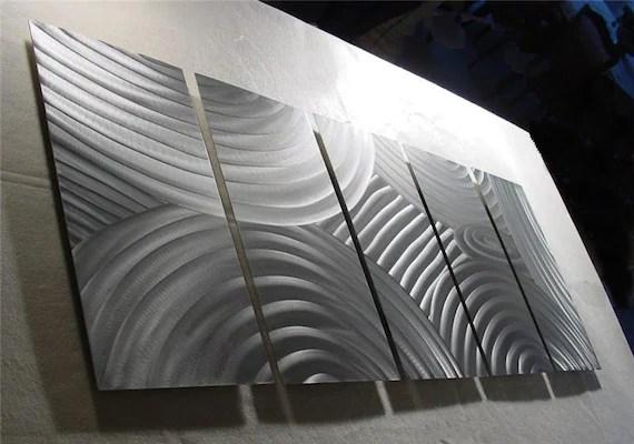 Abstract Metal Wall Art Sculpture Original Metal By Niderart