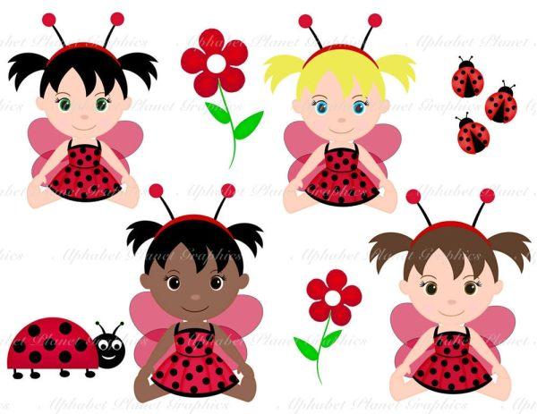 ladybug lady bug baby girl african