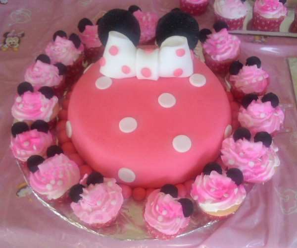 Items Similar Minnie Mouse Cake Topper