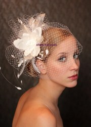 bird cage veil wedding hat fabulous