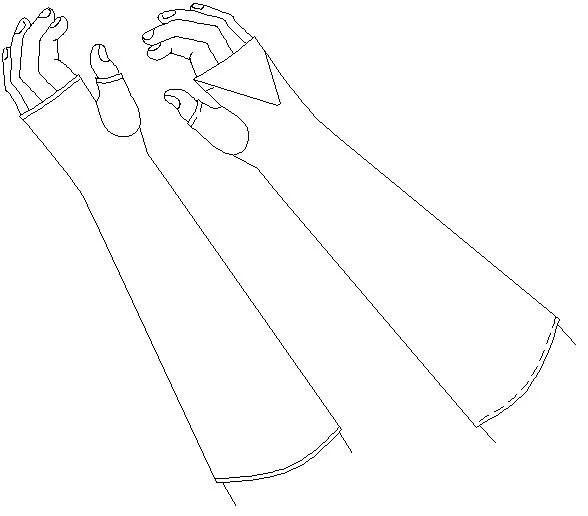 fingerless glove sewing pattern