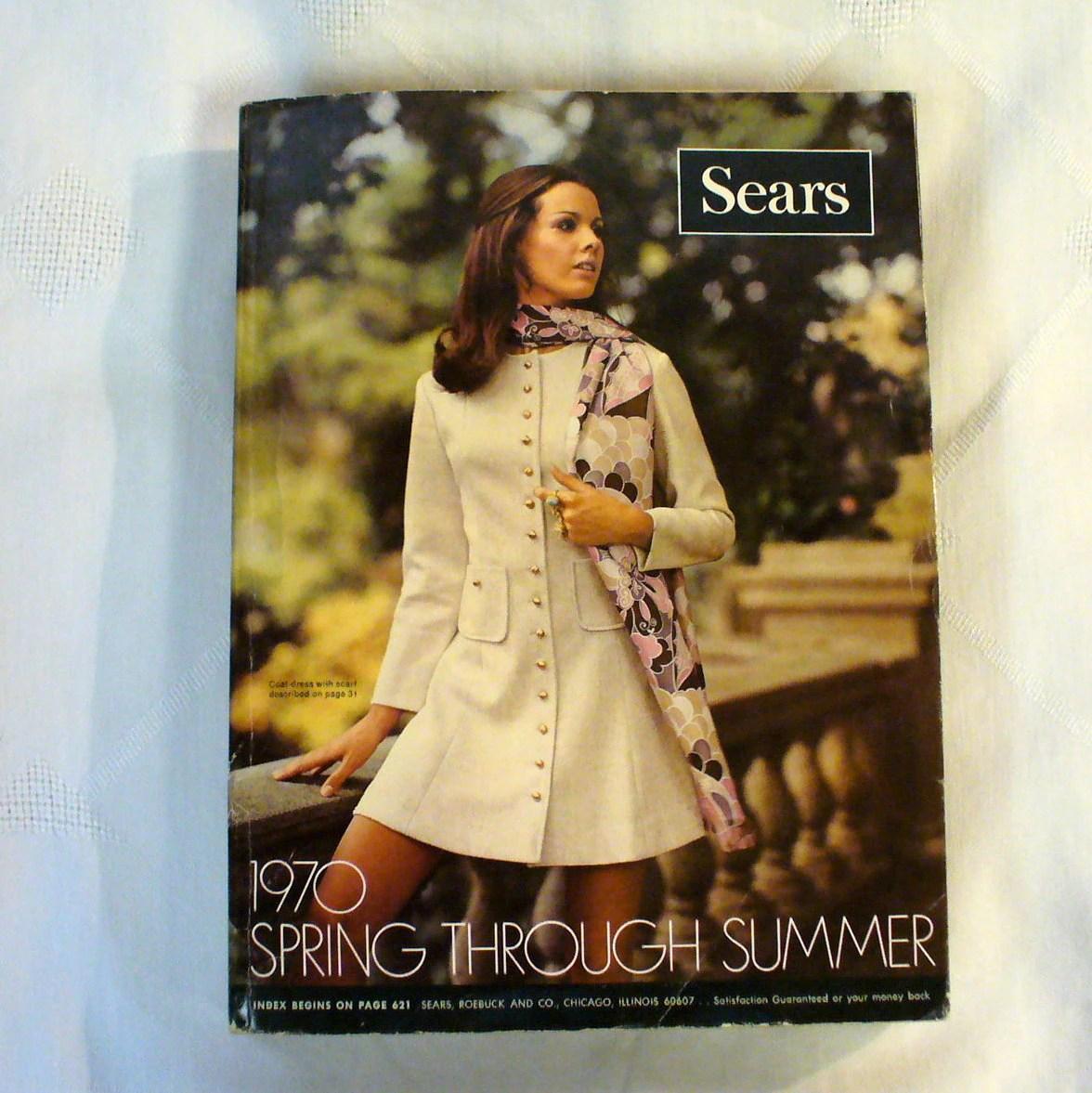 Vintage 1970 SEARS Catalog Big Book Spring Summer