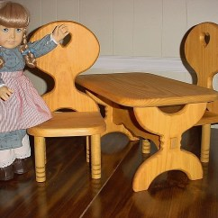 American Doll Chair Knee Wheelchair Girl Table And Set Or All By