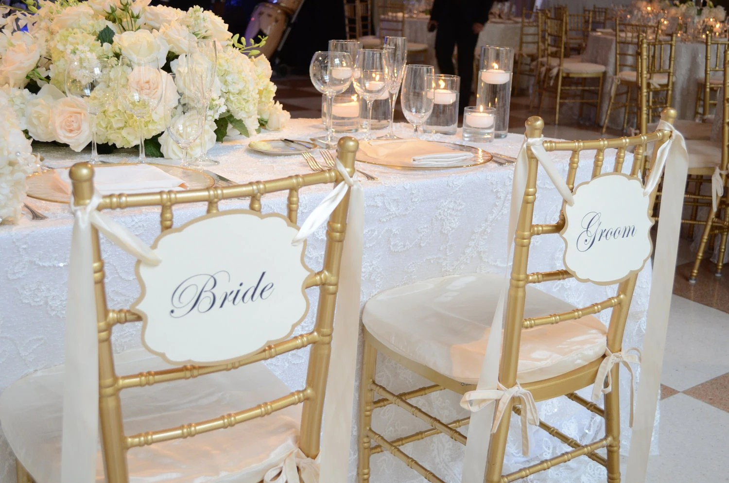 wedding bride and groom chairs bruin my first drum set with chair signs