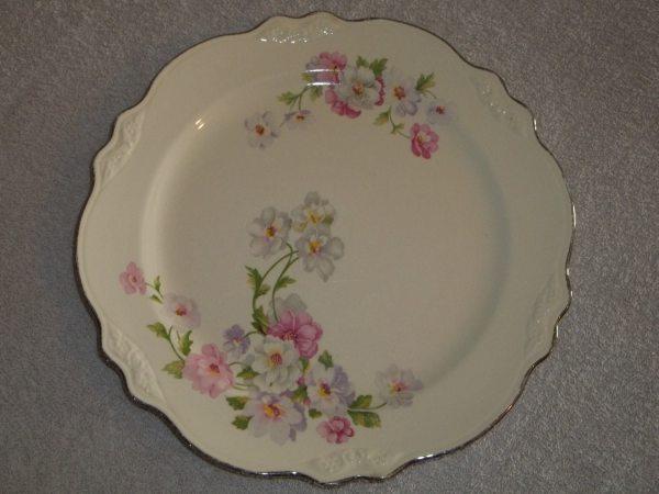 Homer Laughlin Virginia Rose Dinnerware-1950'