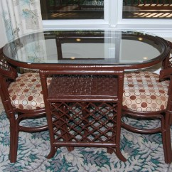 Retro Kitchen Chairs For Sale Wheelchair You Died Was 90 00 Vintage Rattan Dinette Table And