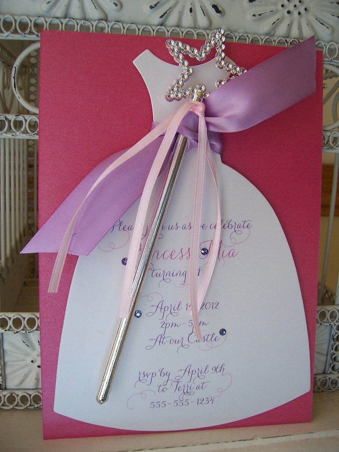 Cut Out Invitation Cards