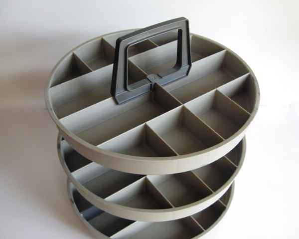 organizer plastic 3 tier turntable lazy susan by by