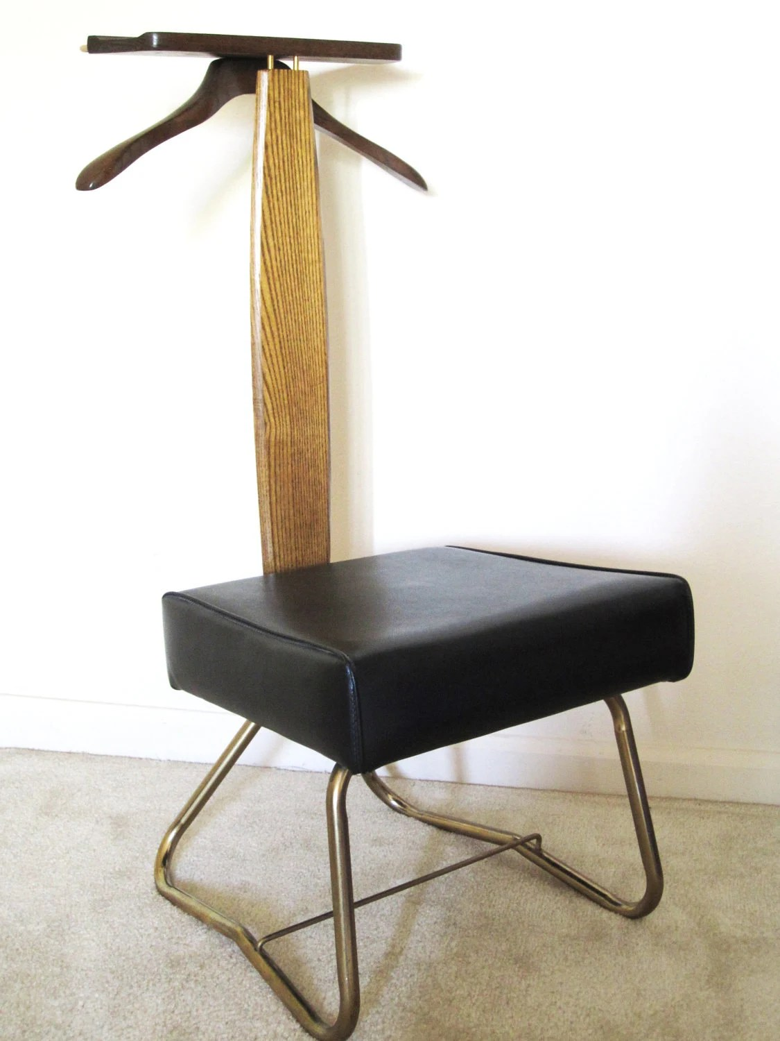 Valet Chair Mid Century Setwell Valet Chair