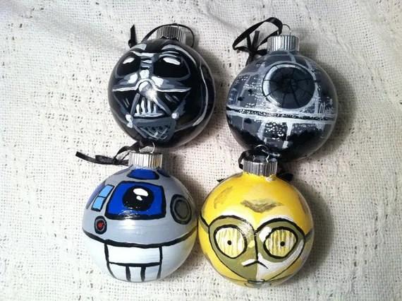 Christnmas Star Wars Ornament
