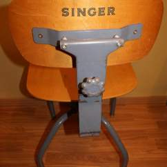 Office Chair Seat Cover Swing Dining Table Vintage Singer Sewing Sale