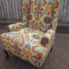 Colorful Accent Chair Stidd Accessories Sundried Floral