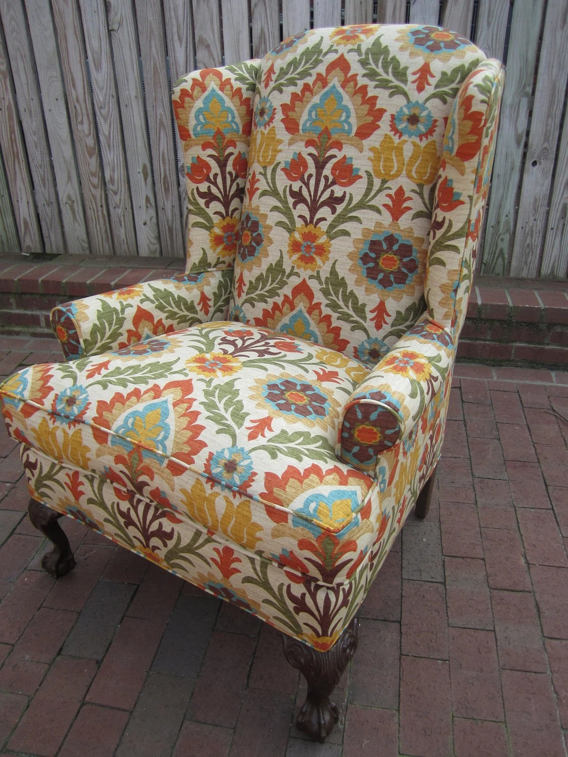 Floral Chairs Accent Chair Sundried Floral