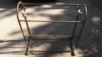 Antique Brass Quilt Rack