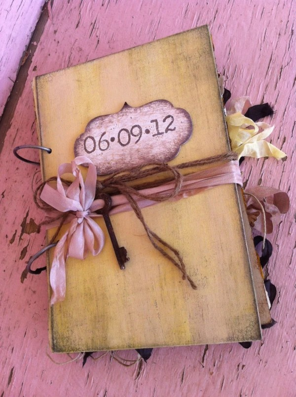 Items similar to Wedding Guest book Fall Wedding