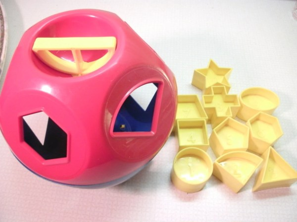 Tupperware Shape Toy