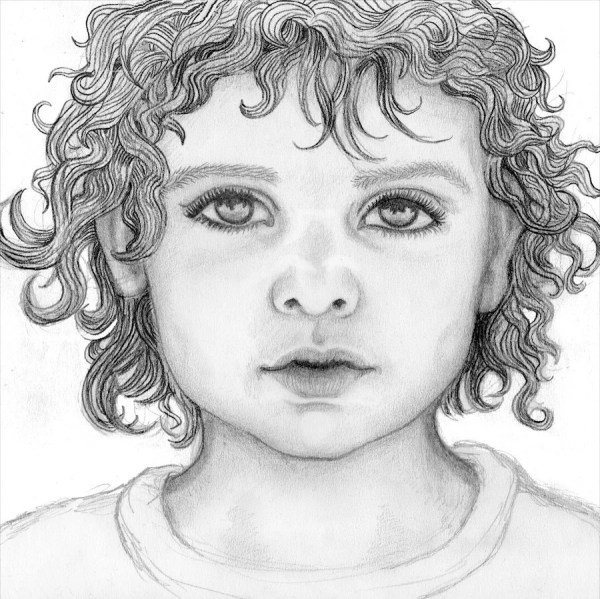 Custom Portrait Original Pencil Drawing A4 Letter Size