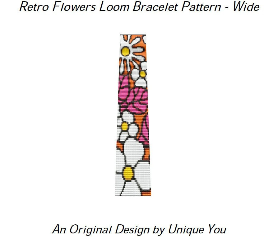 Items similar to Instant Download Beading Pattern Loom