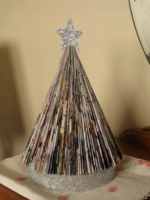 Items similar to Vintage Style Upcycled Folded Paper Book