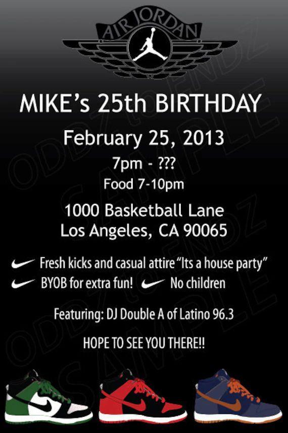 email birthday invite