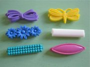 vintage 1980s goody barrettes hair