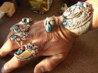 Ran out of fingers Fabulous Bear Claw Ring