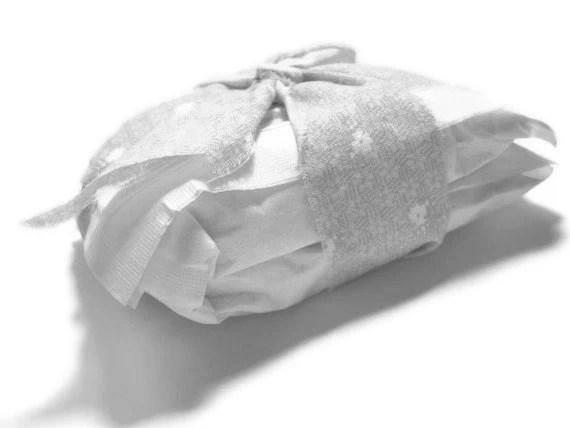 4 Unscented Bath Soak - All Natural Milk Bath Set - Unscented Tub Tea - For Sensitive Skin - Grey - pebblecreekcandles