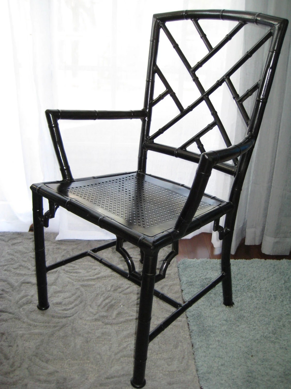 chinese chippendale chairs folding chair costco faux bamboo aluminum