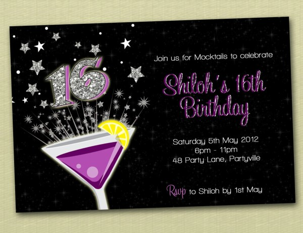 20 18th Birthday Invitation Cards Pictures And Ideas On Weric