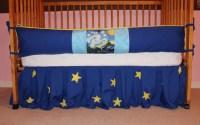 Baby Van Gogh Starry Night crib bedding set by AquaBloom ...