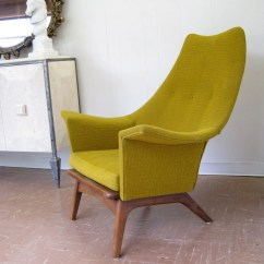 Yellow Club Chair Bean Bag Chairs At Target Mid Century Modern Lounge In Mustard Chartreuse