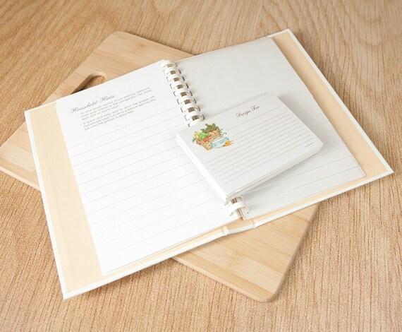 Hallmark Books Blank Recipe