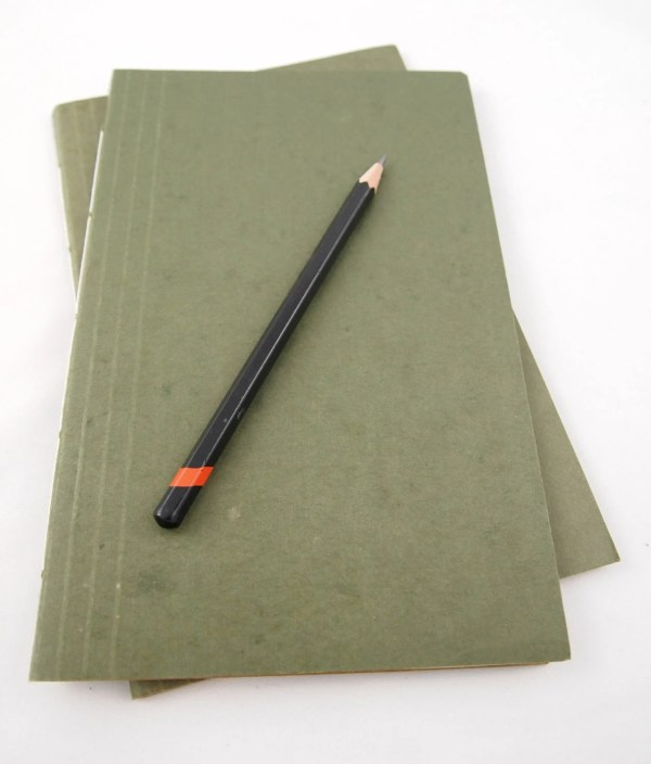 Blank Manila Folder Notebook Set of 2