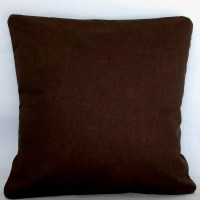 Items similar to Solid Brown Pillow Cover - 22x22, 24x24 ...