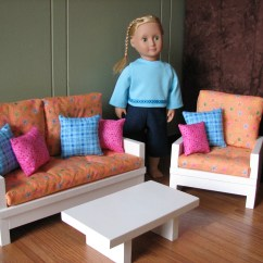 American Doll Chair High Stool Ebay Girl Sized 18 Furniture Living Room