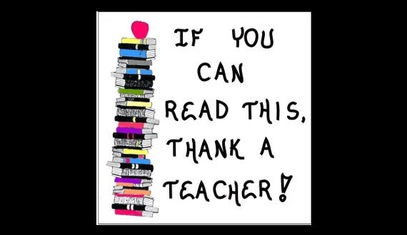 Teacher Quote of thanks Magnet about readinglearning read