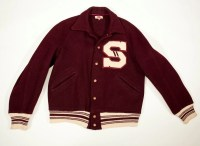 Vintage 1950's Varsity or Letterman Jacket with Letter